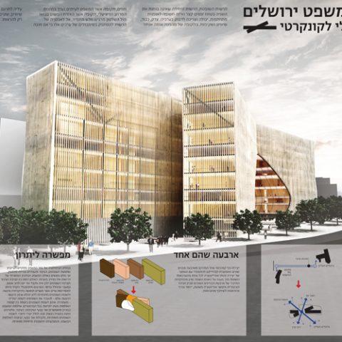 תחרות היכל המשפט,ירושלים