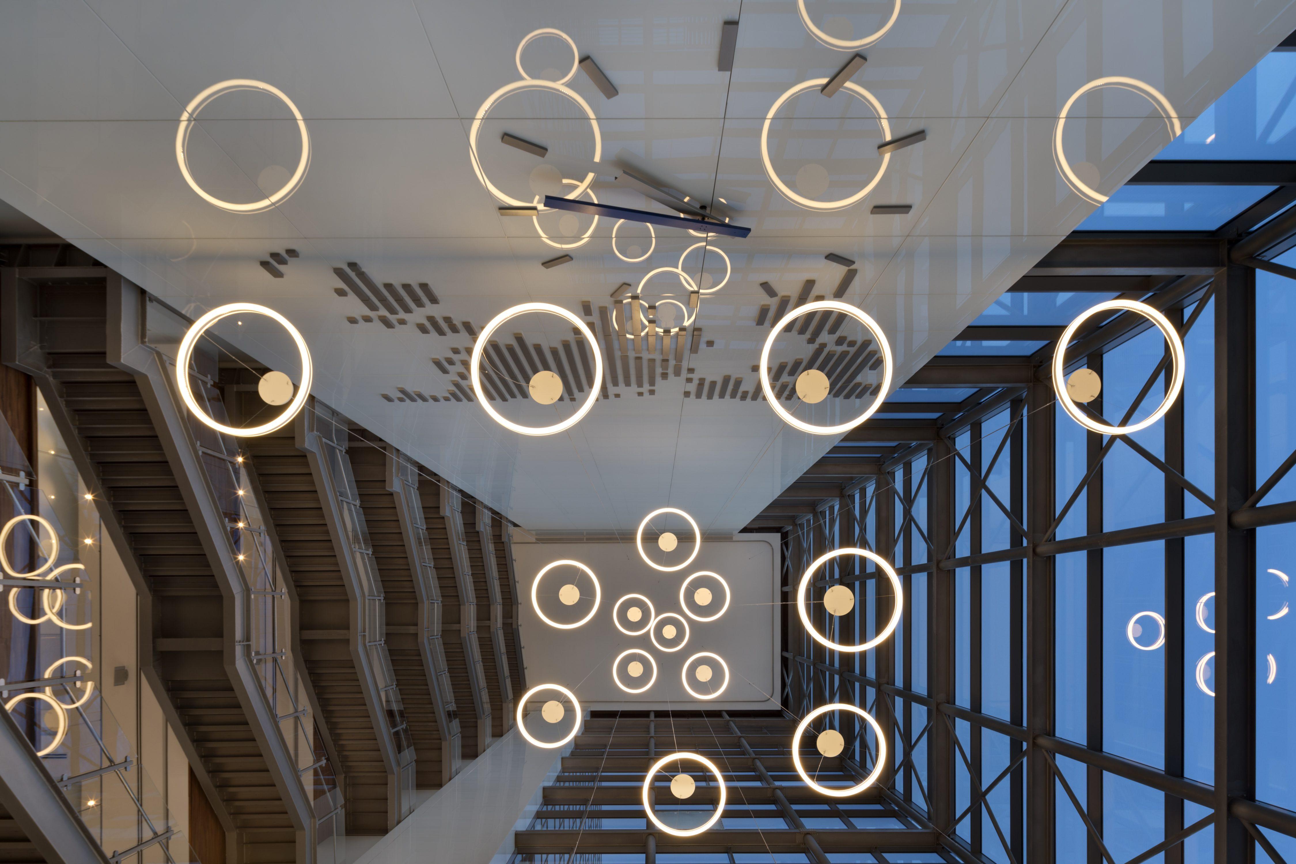 עיצוב פנים למשרדים בבניין חברת מתף, מעוין שורק