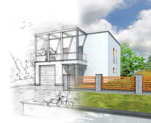 בניית מבנים על פי תכנון אדריכלי, איך זה עובד